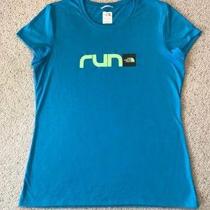 The North Face shirt sleeve running shirt